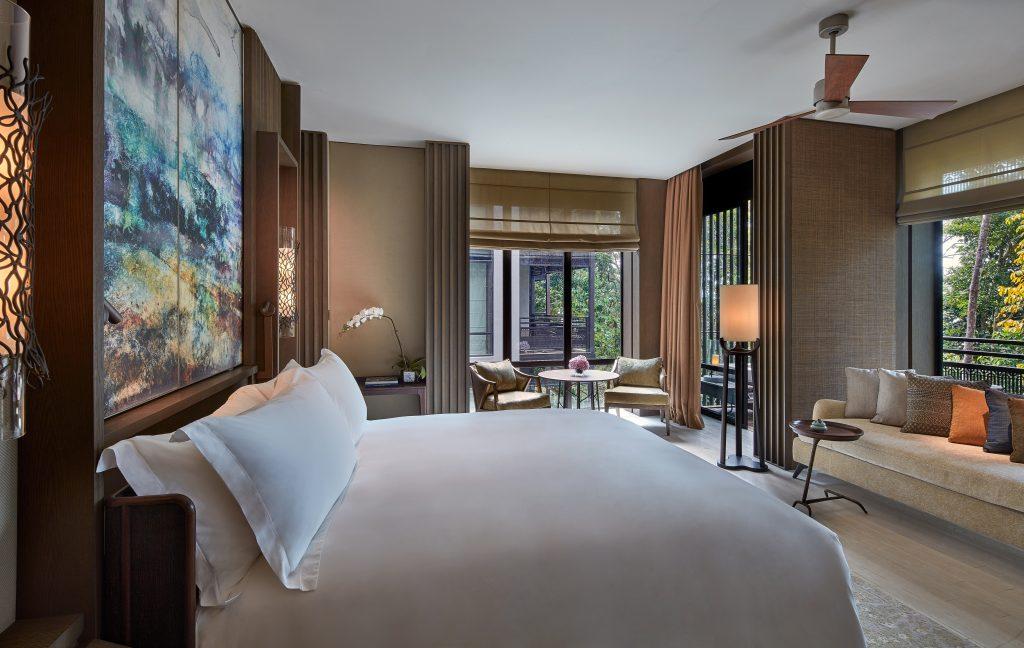 Rainforest Deluxe King Bedroom